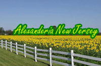 Hunterdon County Alexandria New Jersey