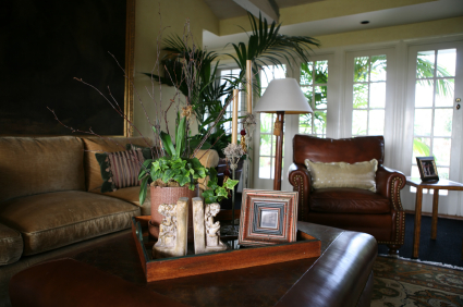 Furniture from model homes for sale